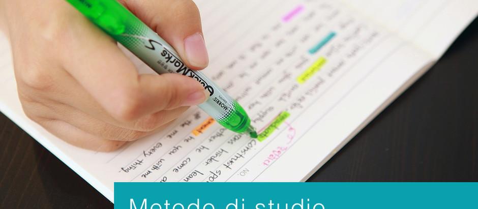 Metodo di studio in caso di dislessia o altro DSA