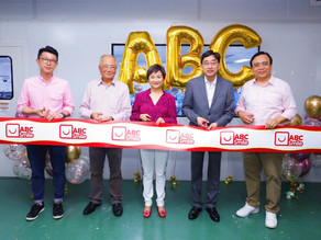 Grand Opening of ABC Smile Mask Factory