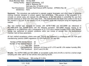 ASTM Level 3 及 歐盟標準 EN14683:2019Type IIR 達標成功!