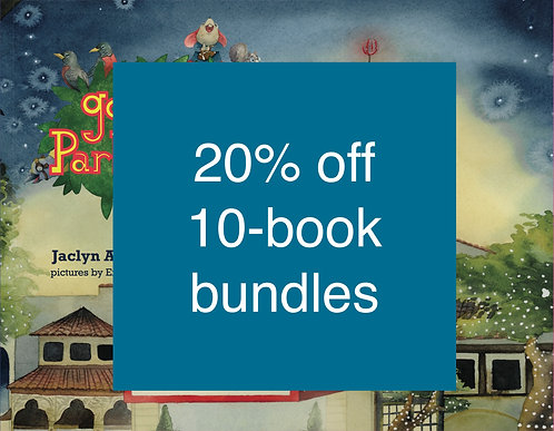 10-Book Bundle of Goodnight Park Cities