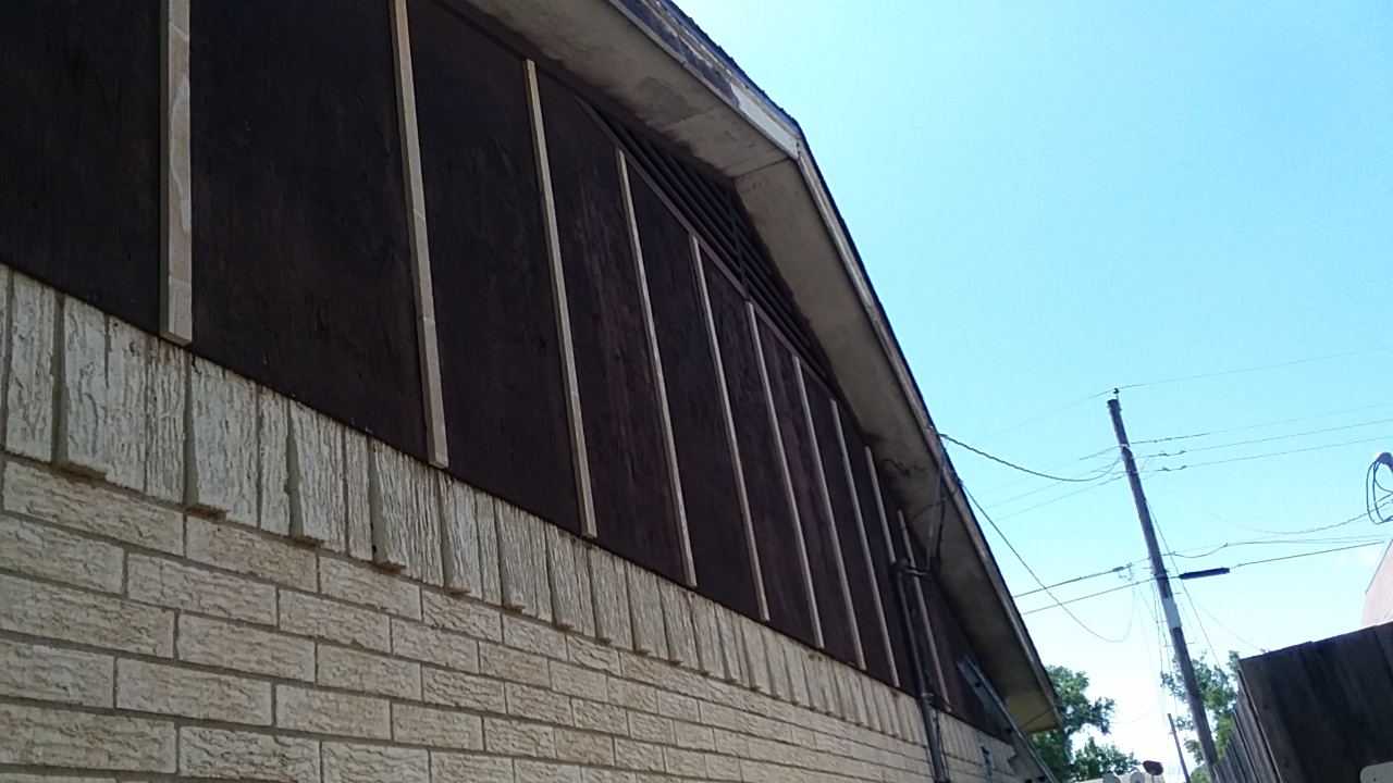 ROTTED SIDING