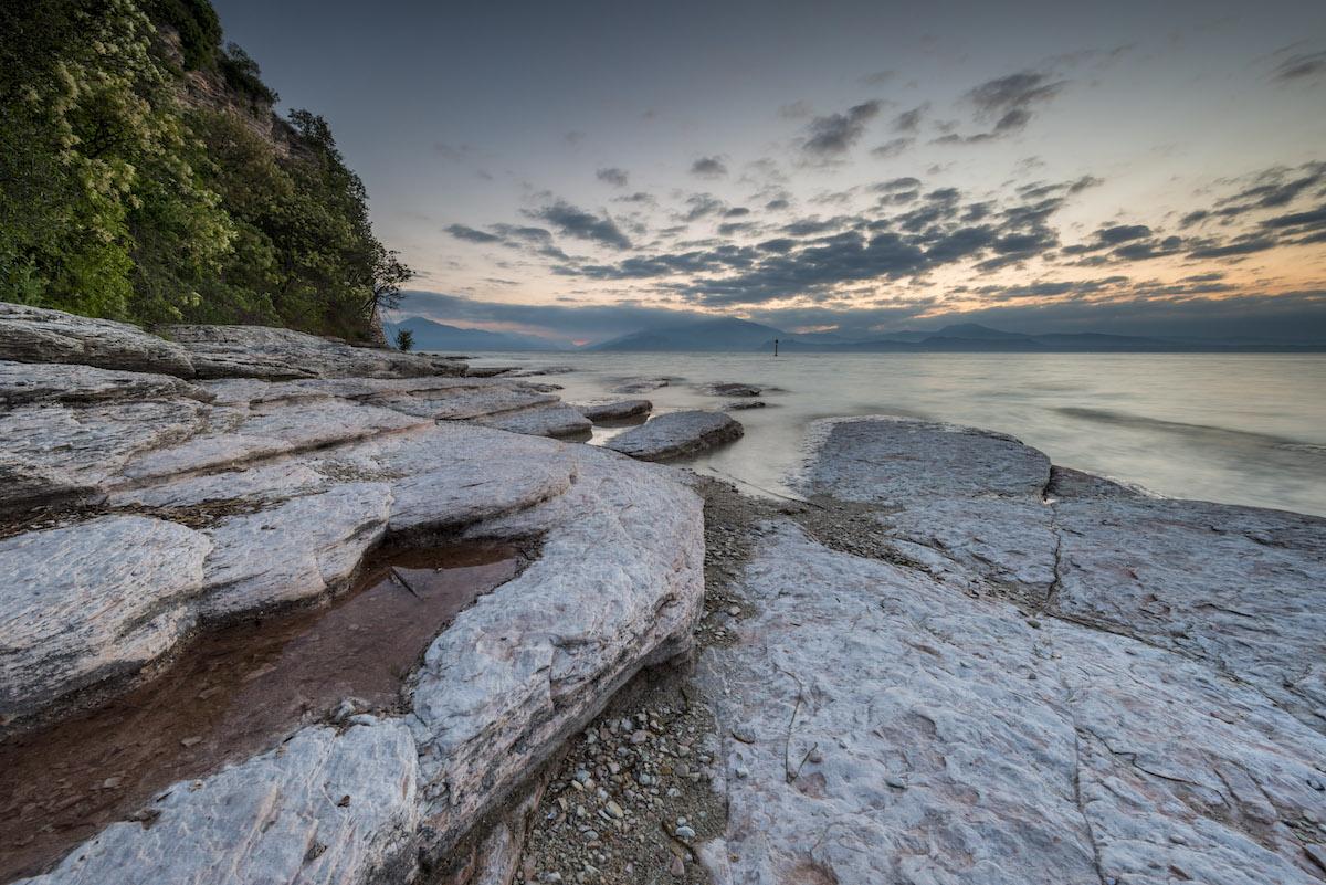 Alba a Sirmione (Lago di Garda)