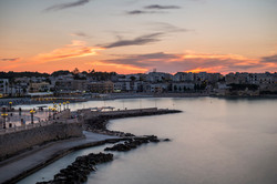 Otranto al tramonto, Puglia