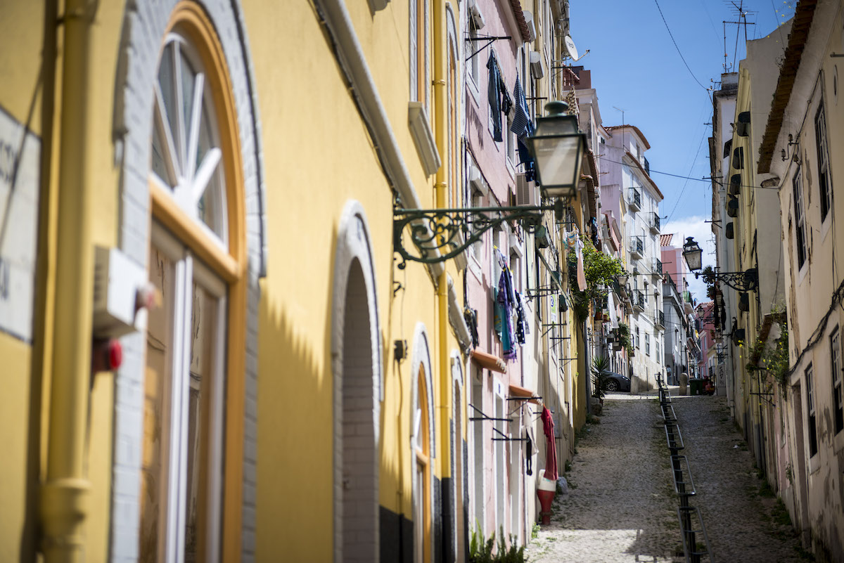 Scorci di Lisbona