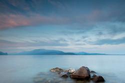 Tramonto a Pisenze, Lago di Garda