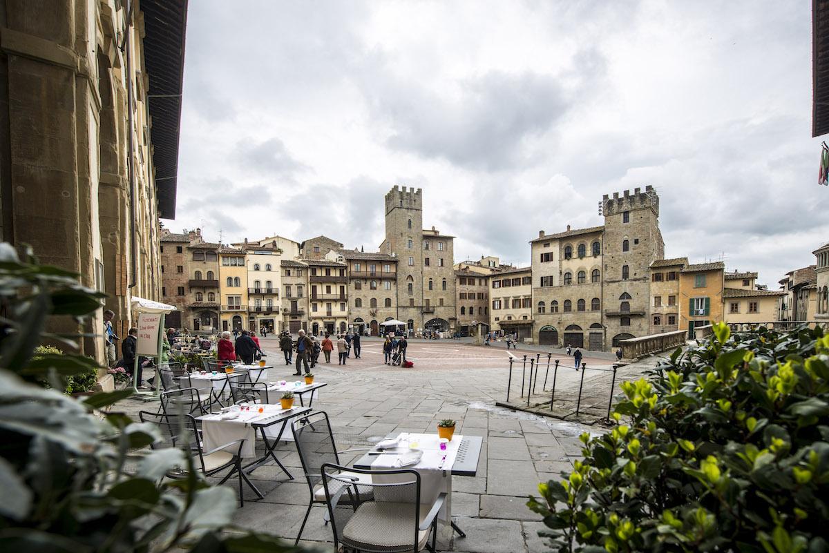 Piazza di Arezzo, Toscana