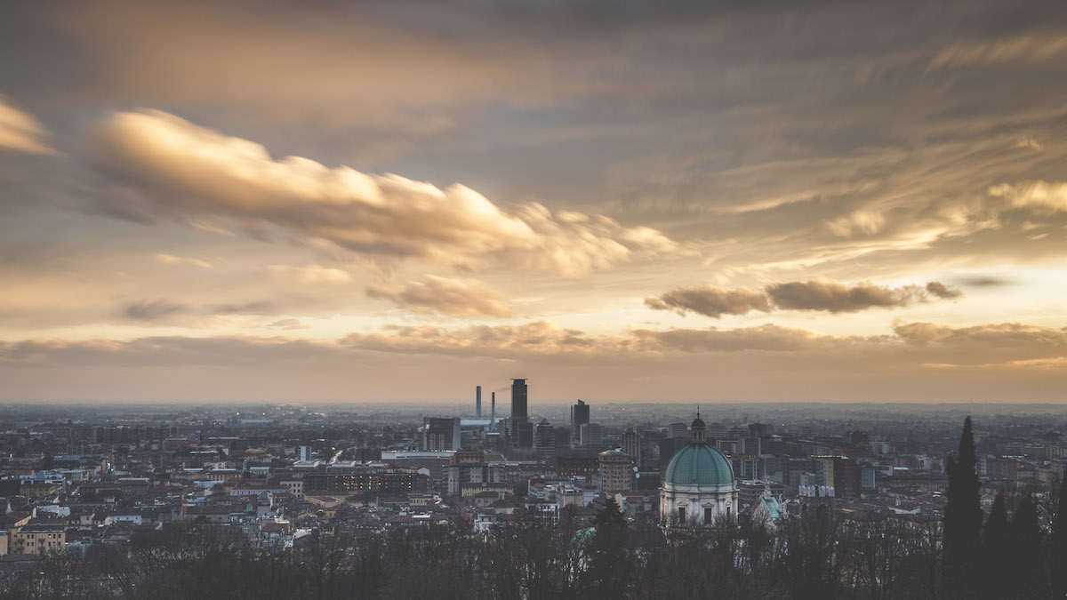 Skyline su Brescia