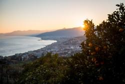 Tramonto a Varezzi, Liguria