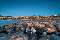 Ora blu in spiaggia a Loano