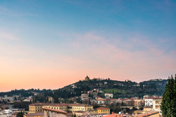 Colle di San Pietro al tramonto (VR)