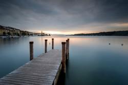 Alba a Salò (Lago di Garda)