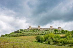 Castello di Monteriggioni, Toscana