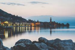 Alba a Salò (Garda Lake)