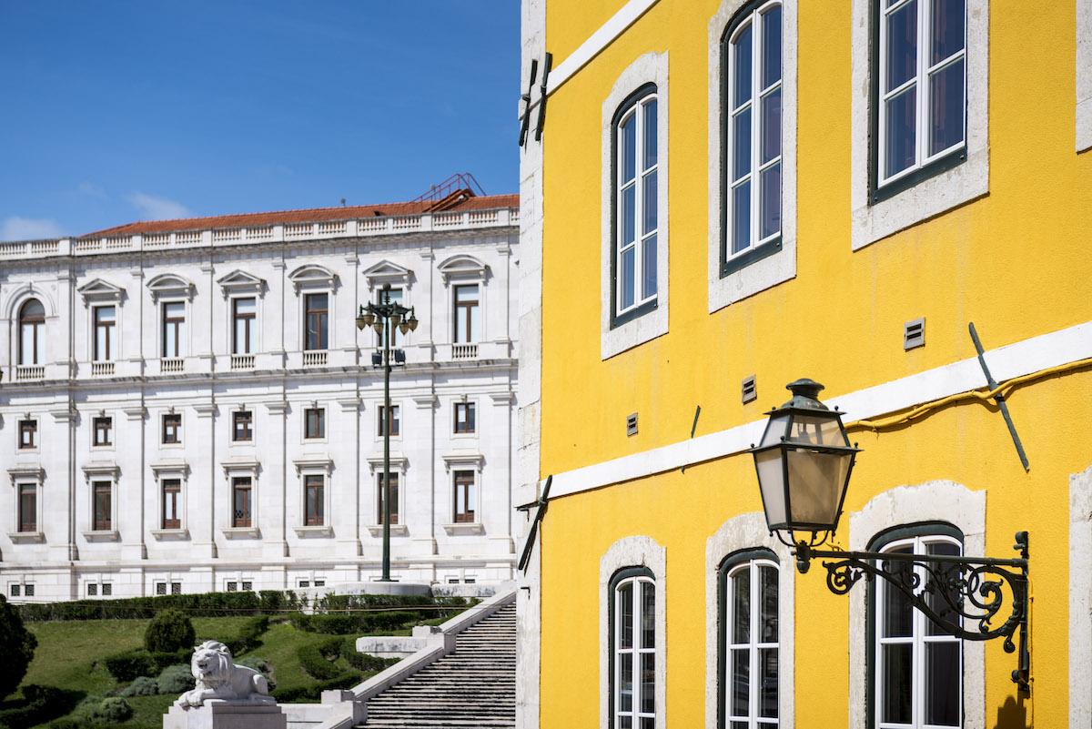 Palazzo a Lisbona