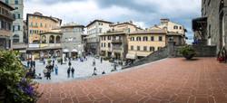 Panoramica P.zza di Cortona, Toscana
