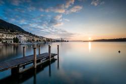 Alba a Salò, Lago di Garda