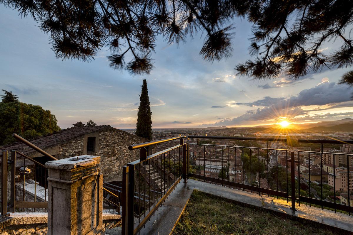 Sunset dal Castello di Brescia