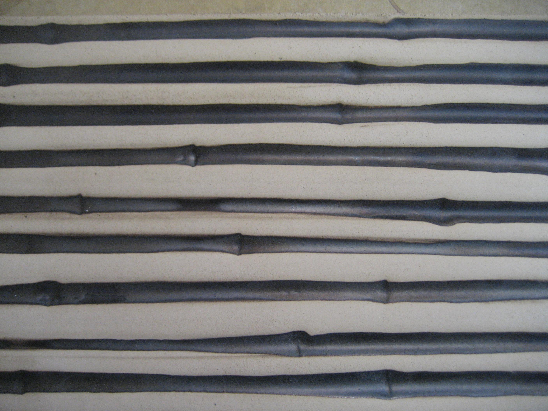Bambus negativ Oberfläche