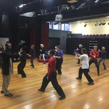 Taiji workshop in Richmond