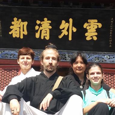 Student trip to Wudang, China