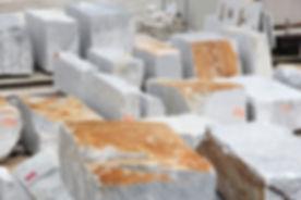 Marble blocks in marble quarry of Carrara, Italy.jpg