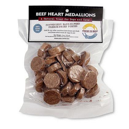 Fresh is Best  Freeze Dried Beef Heart Medallions-3.5oz