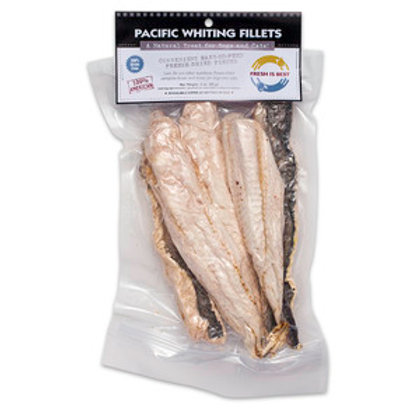 Fresh is Best Freeze Dried Pacific Whiting Filets-3.5oz