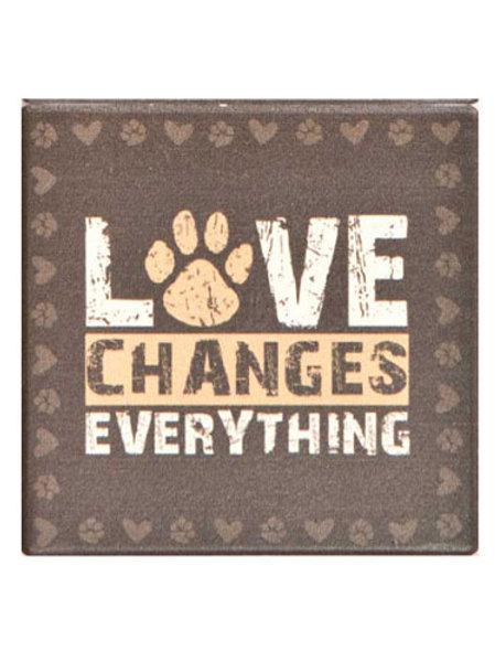 Dogs Speak Coaster-Love Changes