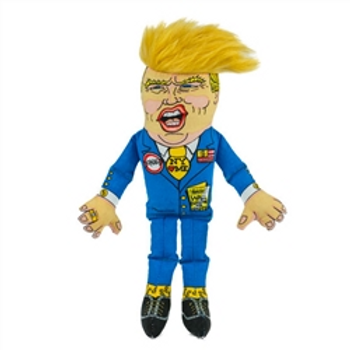"Donald Trump Dog Toy 12"""