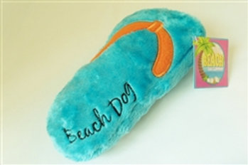Beach Dog Flip Flop Large