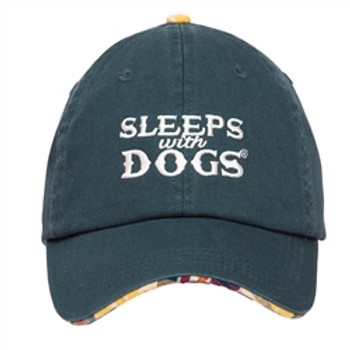 Barkology Hat -Sleep with Dogs-Navy