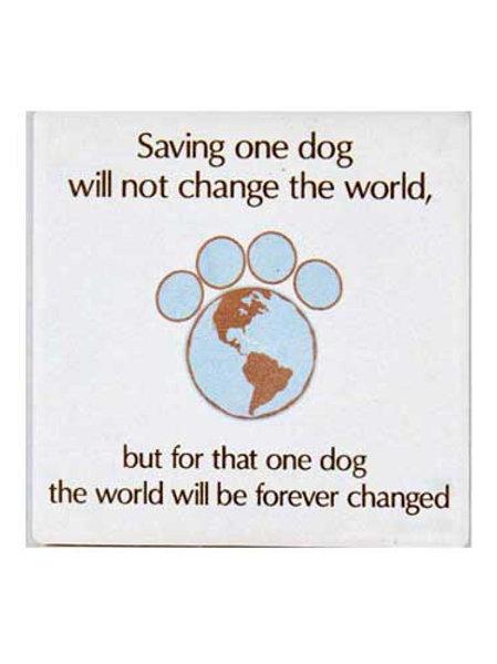 Coaster-Saving One Dog