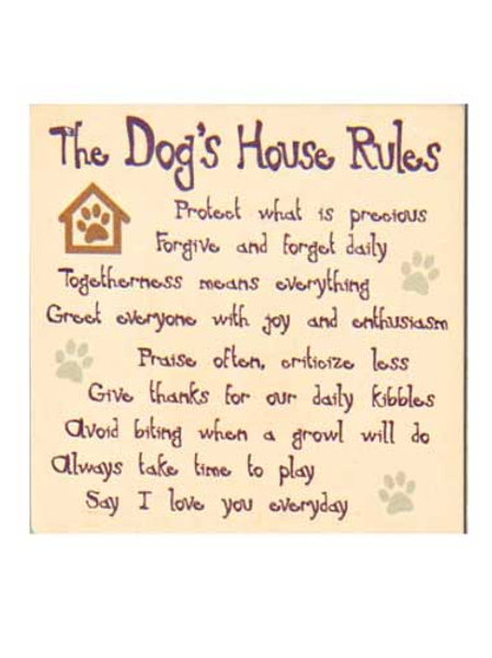 Coaster-Dog House Rules