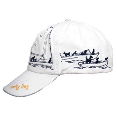 Barkology Hat-salty Dog-White