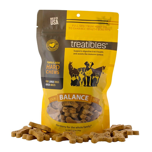 Treatables Balance Pumpkin Flavor Large Dog