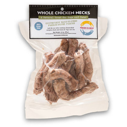 Fresh is Best Freeze Dried Chicken Necks-3.5oz