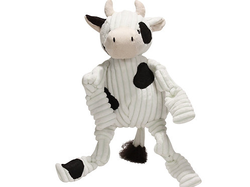 Huggle Hounds Knottie Cow-Small