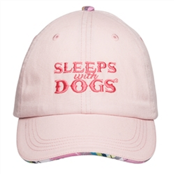 Barkology Hat-Sleep With Dogs-Pink