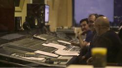 Con Victor Reyes y Juanjo grabando