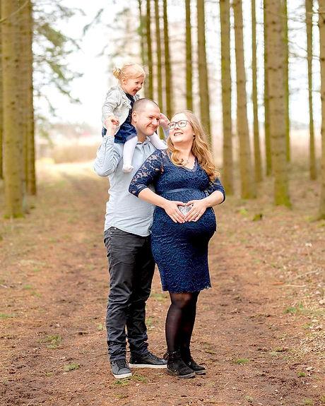Porträtt Familjefotografering Barnfotografering Linköping Östergötland Sverige