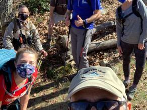 Shenandoah National Park Training Hike with Make-a-Wish Mid-Atlantic