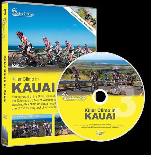 Global Ride: Killer Climb in Kauai Virtual Cycling DVD