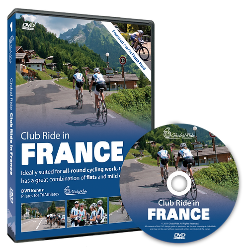 Global Ride: Club Ride in France Virtual Cycling DVD
