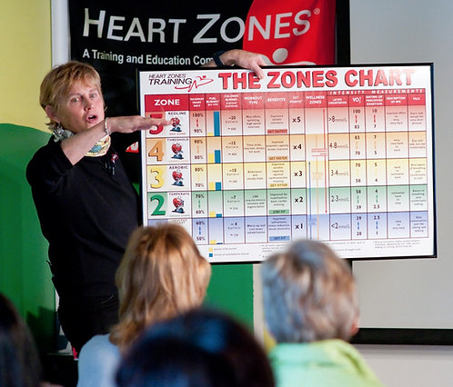 Heart Zones (c) Indoor Cycling- Zoom - 5/16/21