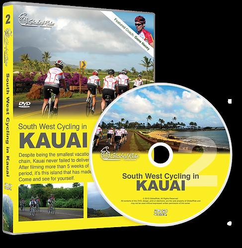 Global Ride: Southwest Cycling in Kauai Virtual Cycling DVD