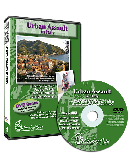 Global Ride: Urban Assault in Italy Virtual Cycling DVD