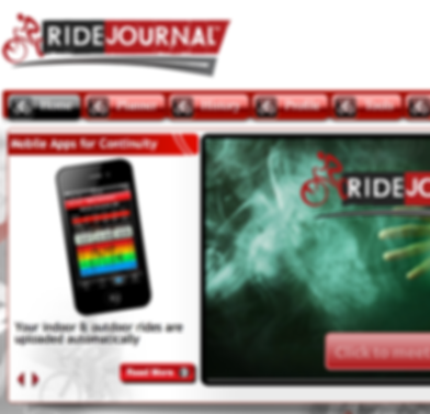 Ride Journal will set your training plan up based on your experience