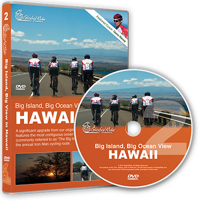 Global Ride: Big Island, Big Ocean View Virtual Cycling DVD