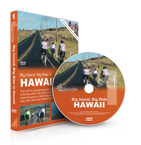 Global Ride: Big Island, Big Ride in Hawaii Virtual Cycling DVD