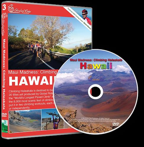 Global Ride: Maui Madness, Climbing Haleakala Virtual Cycling DVD
